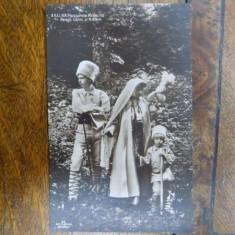 Principesa Maria cu Printul Carol si Nicolae - Harta Europei