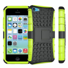 Husa Iphone 5, 5S, 5SE-Hybrid Forcell Verde - Husa Tableta
