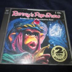 various - Ronny's Pop Show 22 _ dublu cd , compilatie , Columbia(Germania)_'90