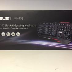 Tastatura Gaming ASUS ROG GK100, Cu fir, USB, Tastatura iluminata
