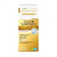 CELEBRITY LINE Crema anti-rid contur ochi cu Aur si Pudra de Diamante 15ml, Bielenda - Crema conturul ochilor