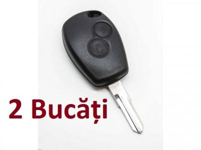 Pachet 2 Carcase Chei Dacia Logan 2 Butoane foto
