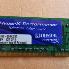 Memorie Laptop Kingston Sodimm DDR2 2 GB 800 Mhz PC3-6400 - Memorie RAM laptop Micron