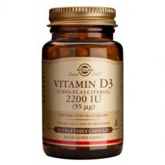 Vitamin D3 2200ui 50cps, Solgar