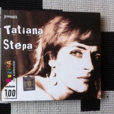 Tatiana stepa dublu disc 2 cd muzica folk rock jurnalul national