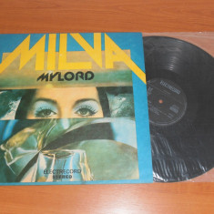 MILVA-MY LORD disc vinil LP vinyl pickup pick-up - Muzica Religioasa