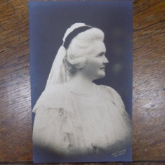 Regina Elisabeta, Fotografie originala - Harta Europei