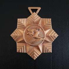 Medalie ski Cupa Poiana 1971 Romania - Medalii Romania