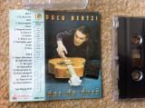 Ducu bertzi dor de duca caseta audio muzica folk pop rock 1997 Intercont Music, Casete audio