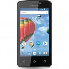 Smartphone myPhone Pocket, Dual Sim, 4 Inch, Quad Core, 512 MB, 4 GB, Retea 3G, Android Marshmallow, Negru - Telefon MyPhone
