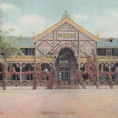 SALUTARI DIN BRAILA CASINUL LACUL SARAT SALA DE BAL ED.N.D.CHRISSOVERGHIS - Carte Postala Muntenia 1904-1918, Necirculata, Printata