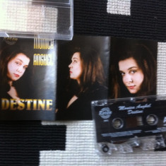 Monica Anghel Destine caseta audio muzica pop usoara slagare roton 1996, Casete audio