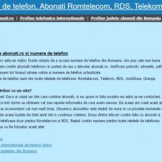Vand site-ul abonati.ro, avantajos, site cu profit, lansat in 2008