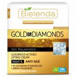 CELEBRITY LINE Crema anti-rid de noapte cu Aur si Pudra de Diamante 50ml, Bielenda