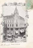 BUCURESTI , CALEA  VICTORIEI  , CLASICA  , TCV , CIRCULATA 1904, Printata