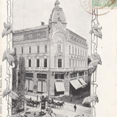 BUCURESTI, CALEA VICTORIEI, CLASICA, TCV, CIRCULATA 1904 - Carte Postala Muntenia pana la 1904, Printata