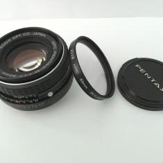 Obiectiv SMC Pentax 50mm f1.7 cu filtru UV Hoya - Obiectiv DSLR