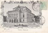 BUCURESTI , TEATRUL  NATIONAL  , CLASICA  , TCV , CIRCULATA 1904, Printata