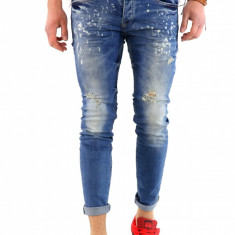 Blugi tip Zara fashion - blugi barbati blugi slimfit blugi conici 6299, Marime: 32, 33, 34, Culoare: Din imagine
