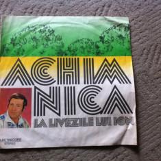 Achim Nica La livezile lui Ion disc vinyl lp Muzica Populara electrecord banateana banat, VINIL