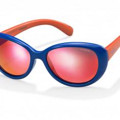Ochelari de soare copii Polaroid PLD8004/S blue-red PLD8004ST4ROZ - Ochelari de soare Polaroid, Femei