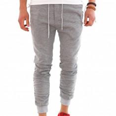 Pantaloni de trening tip ZARA - gri - COLECTIE NOUA - 7994 - Pantaloni barbati, Marime: L, XL, XXL, Culoare: Din imagine