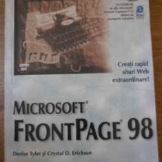 Microsoft Frontpage 98 - D. Tyler C.d. Erickson, 394730