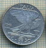 10390 MONEDA - ITALIA -50 CENTESIMI-anul 1940 XVIII-MAGNETIC-starea care se vede, Africa