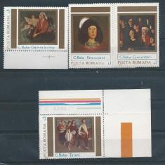 1983 Romania, LP 1085-Reproduceri de arta-Corneliu Baba-MNH - Timbru Romania dupa 1900, Nestampilat