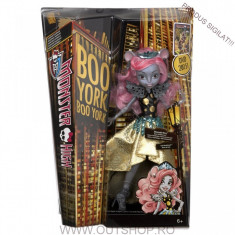 Jucarie fetite papusa Monster High Mouscedes Kinga Mattel, 6-8 ani