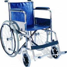 Scaun cu rotile din otel - Articole ortopedice, Carje