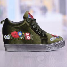 Pantofi Sport Motive Verzi Cod: 969 - Adidasi dama, Culoare: Verde, Marime: 37