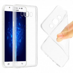 Husa silicon cu protectie la camera Samsung Galaxy Grand Prime Plus / J2 Prime - Husa Telefon, Transparent