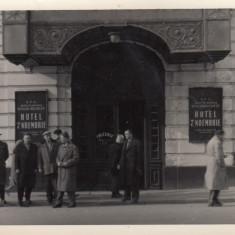 BUCURESTI, HOTEL 7 NOIEMBRIE, FRIZERIE - Carte Postala Muntenia dupa 1918, Necirculata, Fotografie