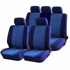 Huse Scaune Auto Audi A4 8W Blue Jeans Rogroup 9 Bucati - Husa scaun auto