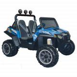 Masinuta Polaris Ranger RZR 900 Blue, Peg Perego