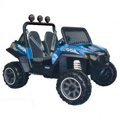 Masinuta Polaris Ranger RZR 900 Blue - Masinuta electrica copii Peg Perego