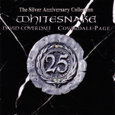 Whitesnake 25 Year Anthology Silver Anniversary ed. (2cd) - Muzica Rock