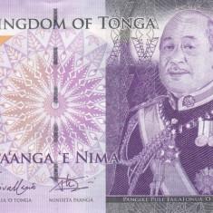 Bancnota Tonga 5 Pa'anga (2014) - P39b UNC