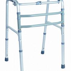 Cadru pliabil din aluminiu cu miscare alternativa pentru maxim 115Kg - Articole ortopedice, Cadru mers