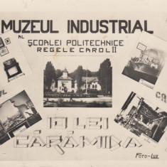 BUCURESTI, MUZEUL INDUSTRIAL AL SCOALEI POLITECHNICE REGELE CAROL II - Carte Postala Muntenia dupa 1918, Necirculata, Fotografie