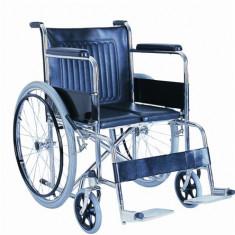Scaun cu rotile din otel cu ranforsare dubla - Articole ortopedice, Altele