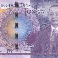 Bancnota Tonga 5 Pa'anga (2015) - PNew UNC