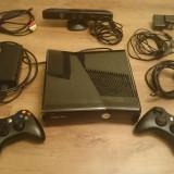 XBOX360 Slim Modata+Kinect+2 controllere+Jocuri - Xbox 360 Microsoft