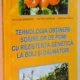 TEHNOLOGIA OBTINERII SOIURILOR DE POMI CU REZISTENTA GENETICA LA BOLI SI DAUNATORI , 2003