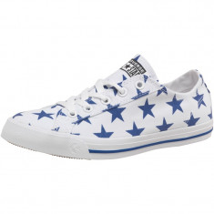 Adidasi tenisi tenesi dama fete fata CONVERSE ALL STAR Ox Stars ORIGINALI 37 - Tenisi dama Converse, Culoare: Alb, Textil