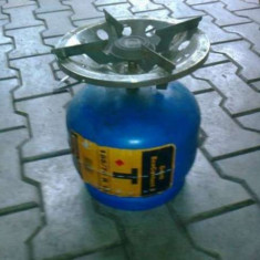 Butelie camping/voiaj 3 litri GPL - Aragaz/Arzator camping
