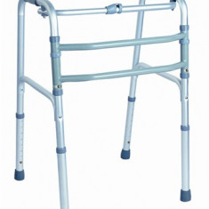 Cadru pliabil din aluminiu cu miscare alternativa pentru maxim 105 Kg - Articole ortopedice, Cadru mers