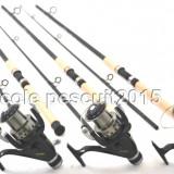 Set Pescuit 3 Lansete WIND BLADE 3m cu 3 Mulinete DMR 60 4 RUL - Lanseta