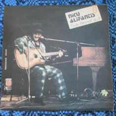 NICU ALIFANTIS - PIAȚA ROMANĂ NR. 9 (1 VINIL - STARE FOARTE BUNA!!!) - Muzica Folk electrecord